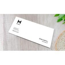 100 x DL Envelopes (black only)