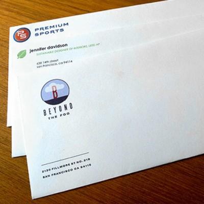 500 x DL Envelopes (colour)
