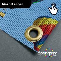 Full Colour Outdoor Mesh PVC Banner