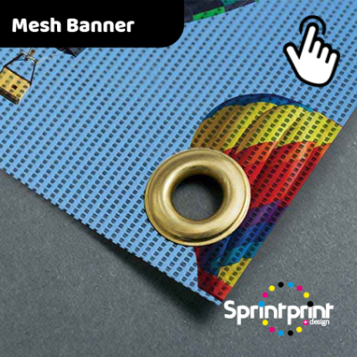 Full Colour Outdoor Mesh PVC Banner