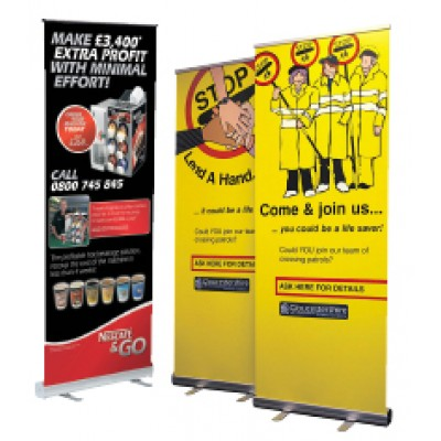 Roller/Pull-up Banner 800x2200mm
