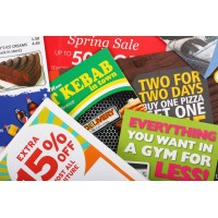 A4 Leaflets Double Sided x 500