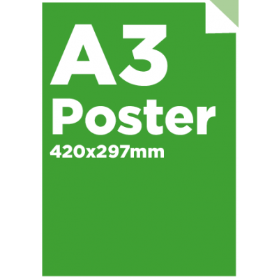 A3 Poster only £3.00 each