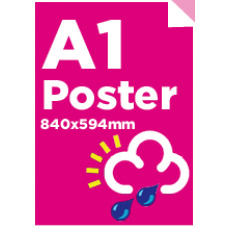 A1 Waterproof/Tearproof Poster