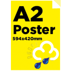 A2 Waterproof/Tearproof Poster