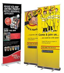 Pull Up Banners Printers Preston Lancashire