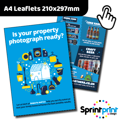 A4 Leaflet Printers Preston
