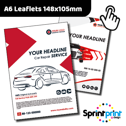 A6 Leaflets Preston