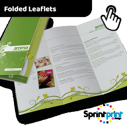 Folded Leaflet Printers Preston